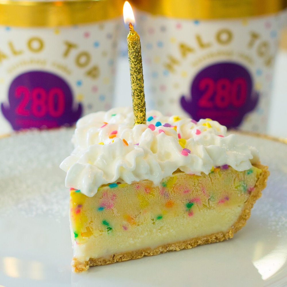 Birthday Pie Recipe HALO TOPR