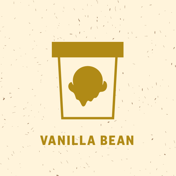 Vanilla Bean Pint Illustration