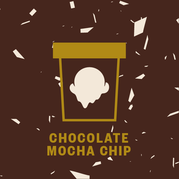 Chocolate Mocha Chip Pint Illustration