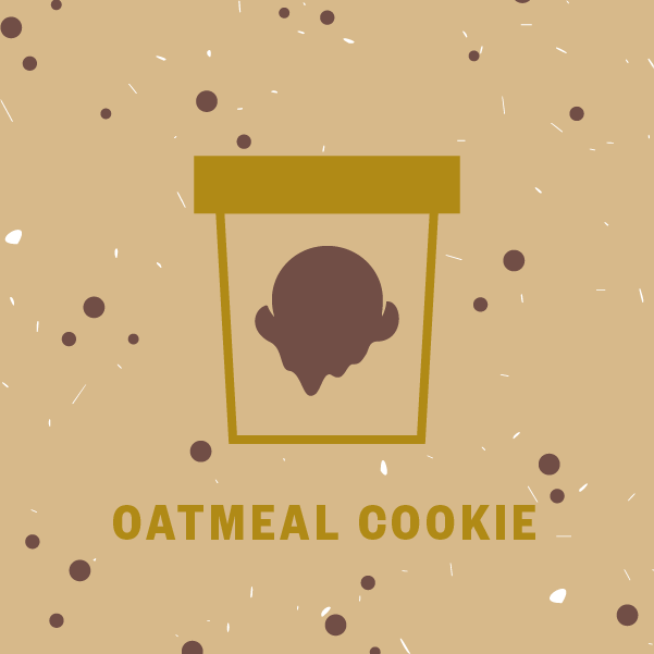 Oatmeal Cookie Pint Illustration