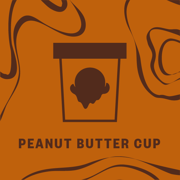 Peanut Butter Cup Pint Illustration