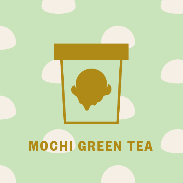 Mochi Green Tea Pint Illustration