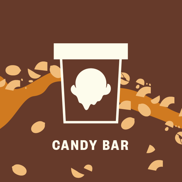 Candy Bar Pint Illustration
