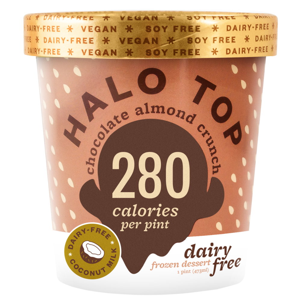 dairy-free chocolate almond crunch pint