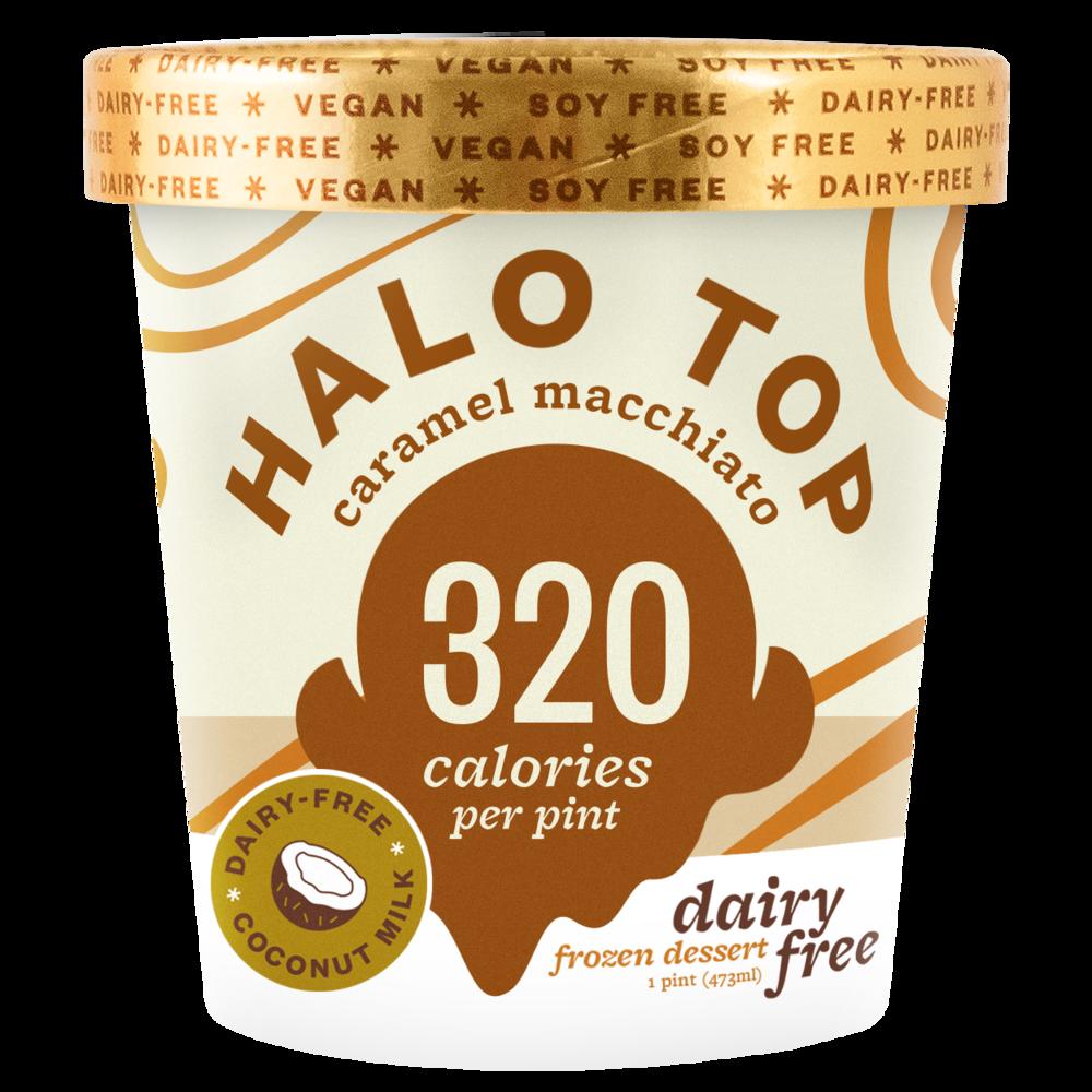 dairy-free caramel macchiato pint