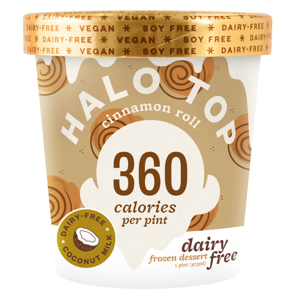 dairy-free cinnamon roll pint
