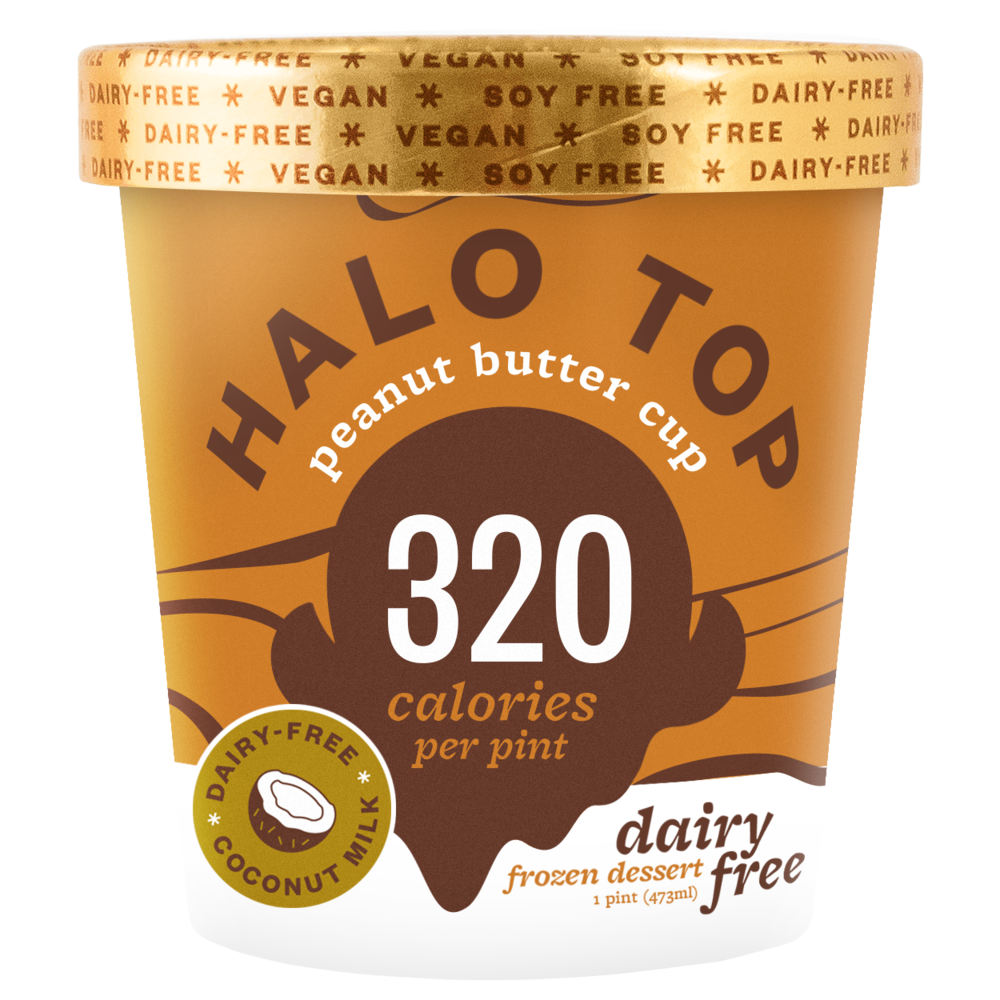 dairy-free peanut butter cup pint