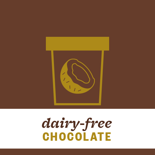 Dairy-Free Chocolate Pint Illustration