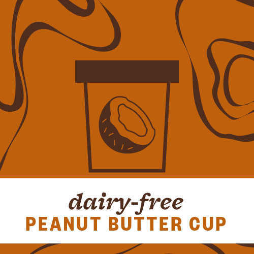 Dairy-Free Peanut Butter Cup Pint Illustration