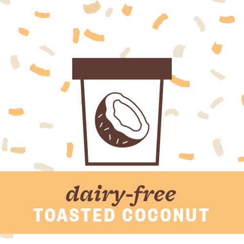 Dairy-Free Toasted Coconut Pint Illustration