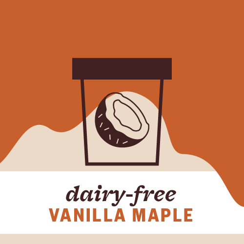 Dairy-Free Vanilla Maple Pint Illustration