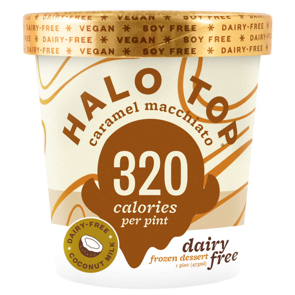 Dairy Free Caramel Macchiato Pint