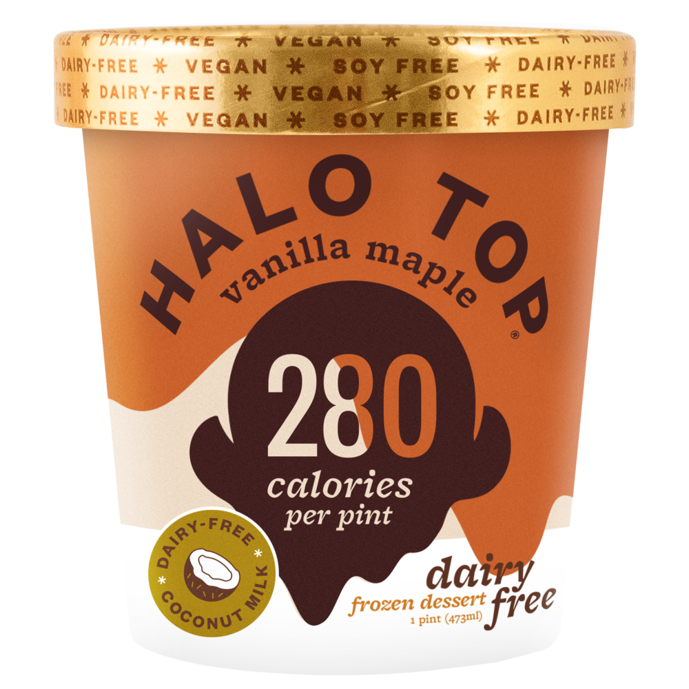 dairy-free vanilla maple pint