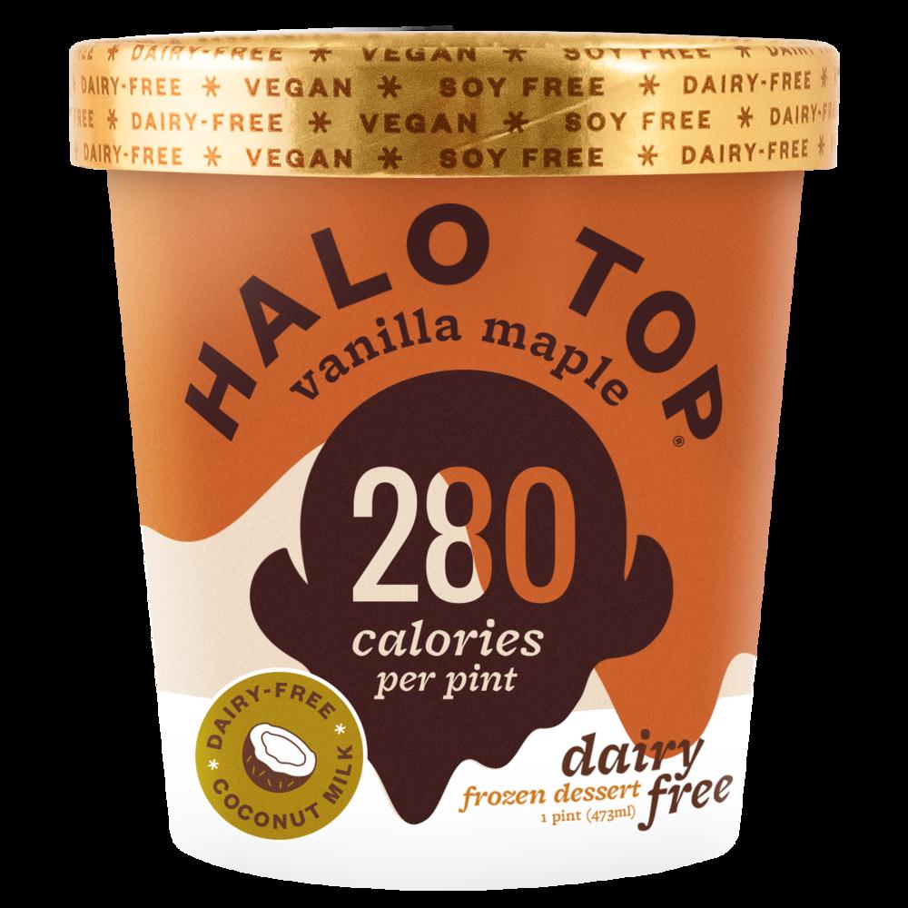 dairy-free vanilla maple pint