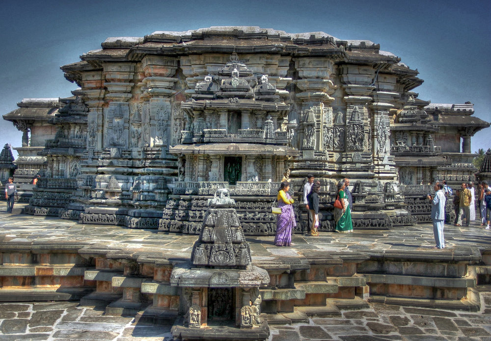 The Chenna Keśava temple in Belur, Karṇātaka. The deity here is said to grant the wishes of whoever visits with devotion.