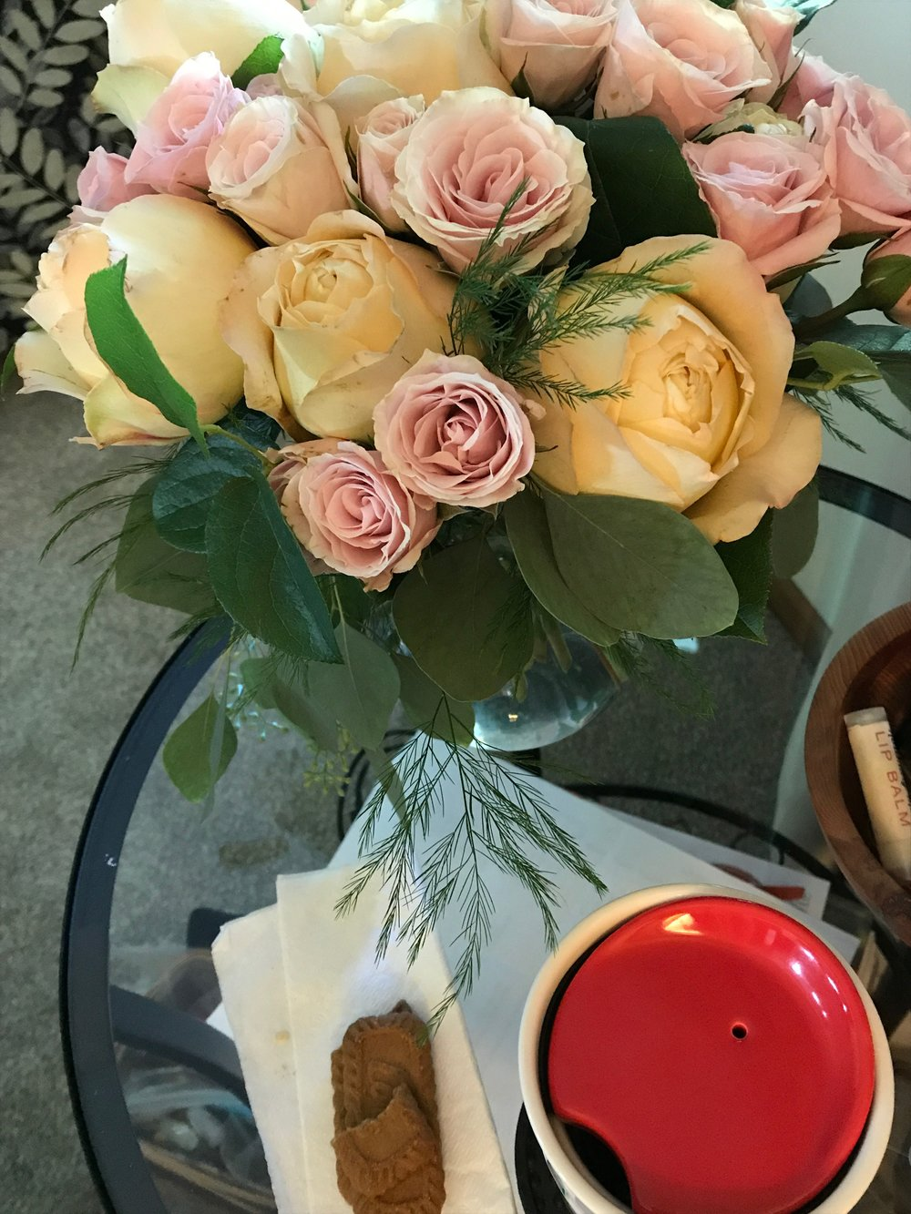 Hot Tea and Roses