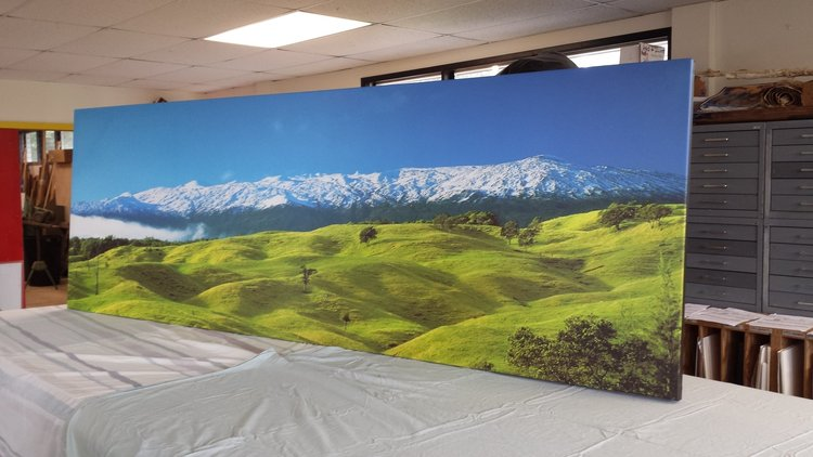 Canvas Stretch - 9 foot Gallery Wrap Style