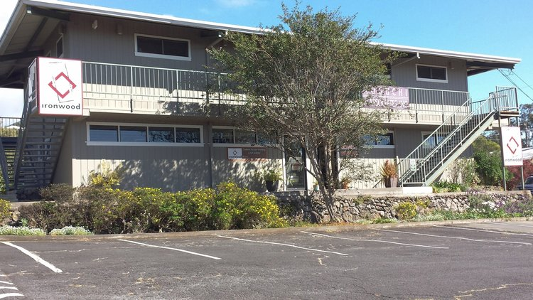 EASY ACCESS - Our location in Kamuela is easy to access with plentiful parking.  We are located in the Moon Commercial Center, across the street from Red Water Cafe and in front of the Kamuela Inn.