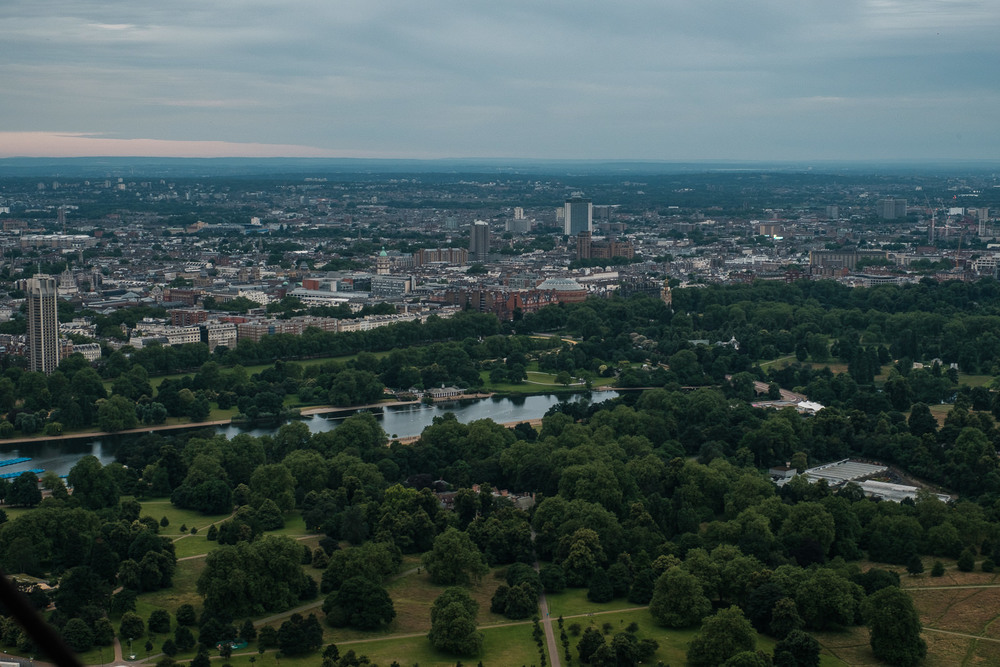 Hyde Park, looking towards South Kensington. ISO500 16-55mm f8 1/100s