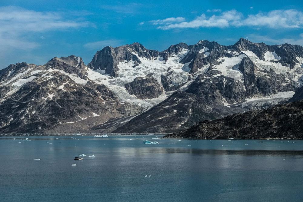 leaving Karale fjord