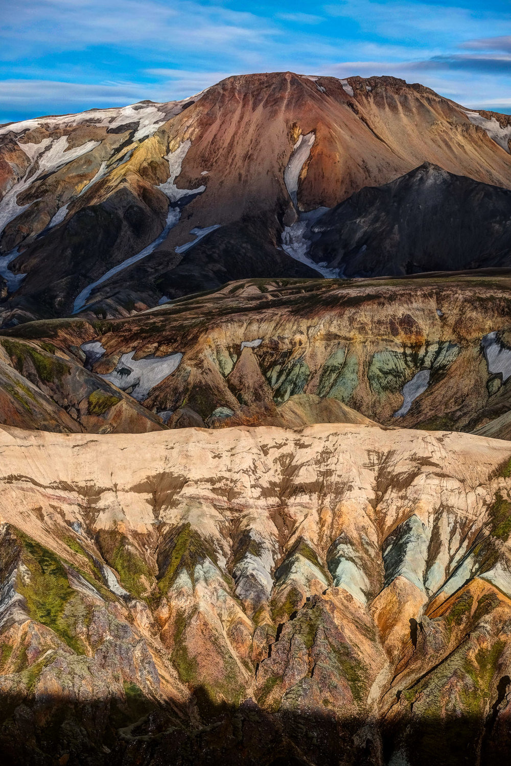 Layers of colour and light, Landmannalaugar Highlands