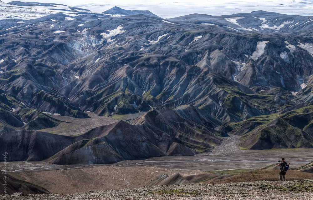Trek with a view... Landmannalaugar Highlands