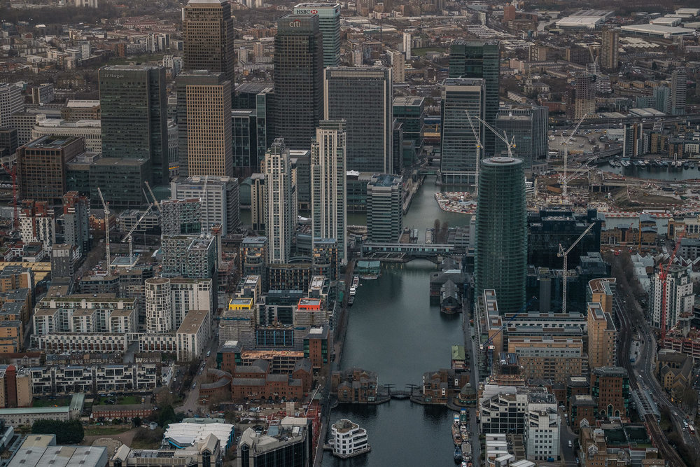 Canary Wharf; X-T2 ISO800 50-140mm f3.6 1/1250s