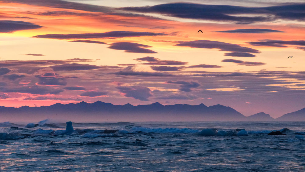 sunrise at Jökulsárlón   (XF 50-140mm f2.8 at 120mm 13s f8 ISO2500)