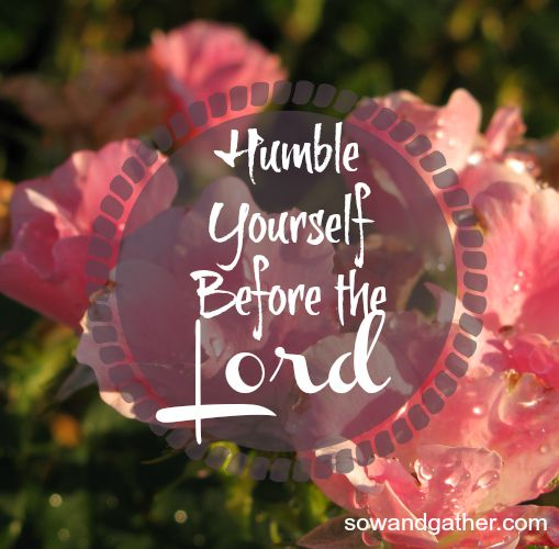 humble-yourself-before-the-Lord-sowandgather
