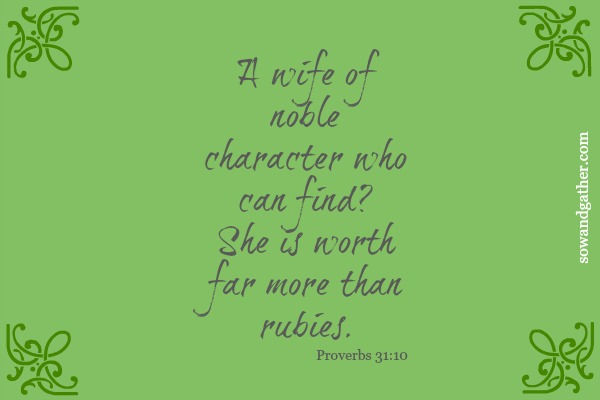 Proverbs31 #sowandgather