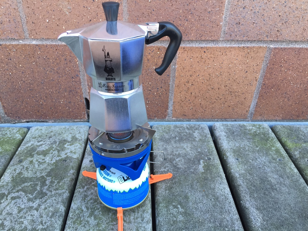 Reassemble the  Moka pot