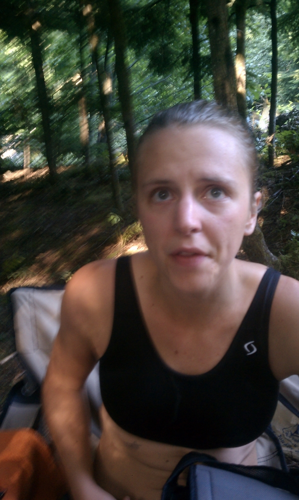 suffering deeply during my first fifty miler, 2011