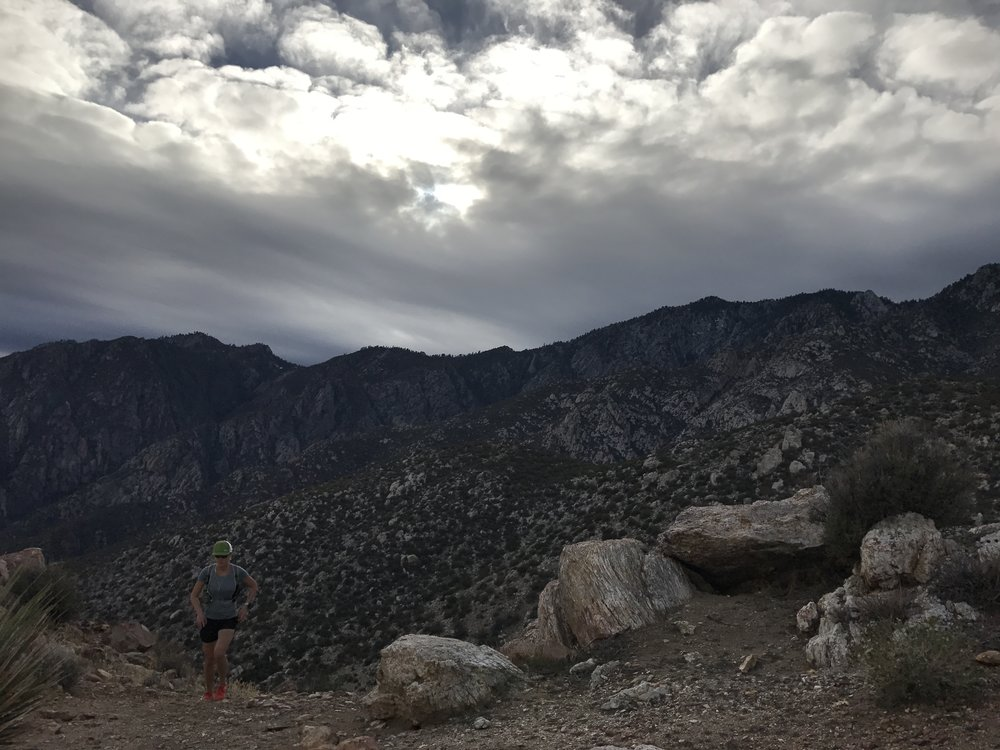winter in the desert = magick, San Jacinto Range