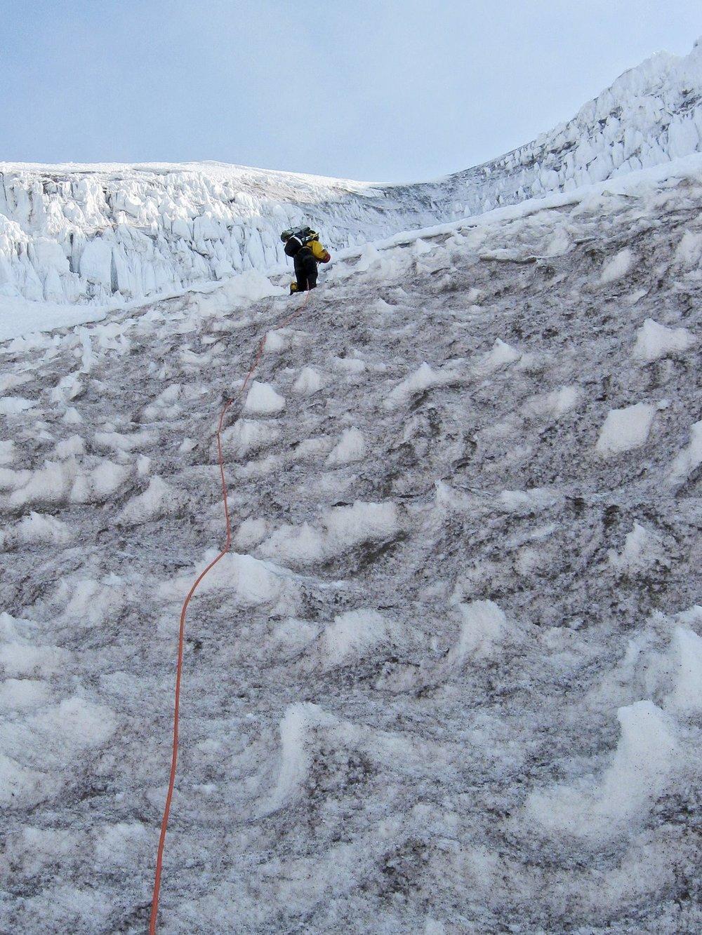 Kautz Glacier 2009