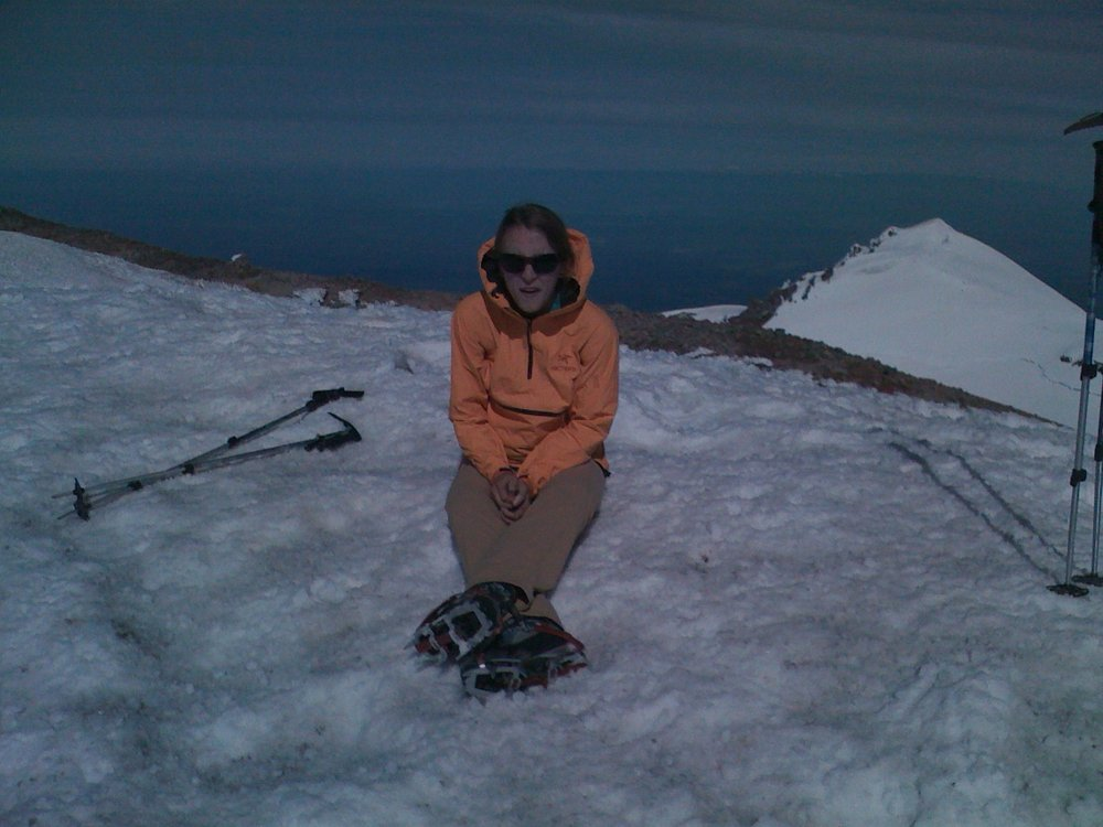 on a speed climb on Rainier conducted simul-solo, Summer 2011, cr. Chad Kellogg