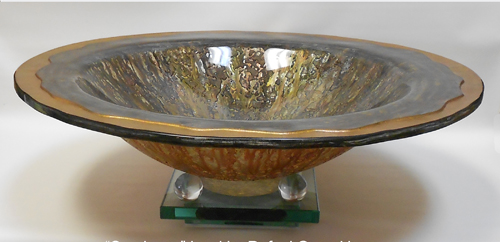 """Sundance"" bowl. Click ""Gevorkian Vessels"" to see this and more."