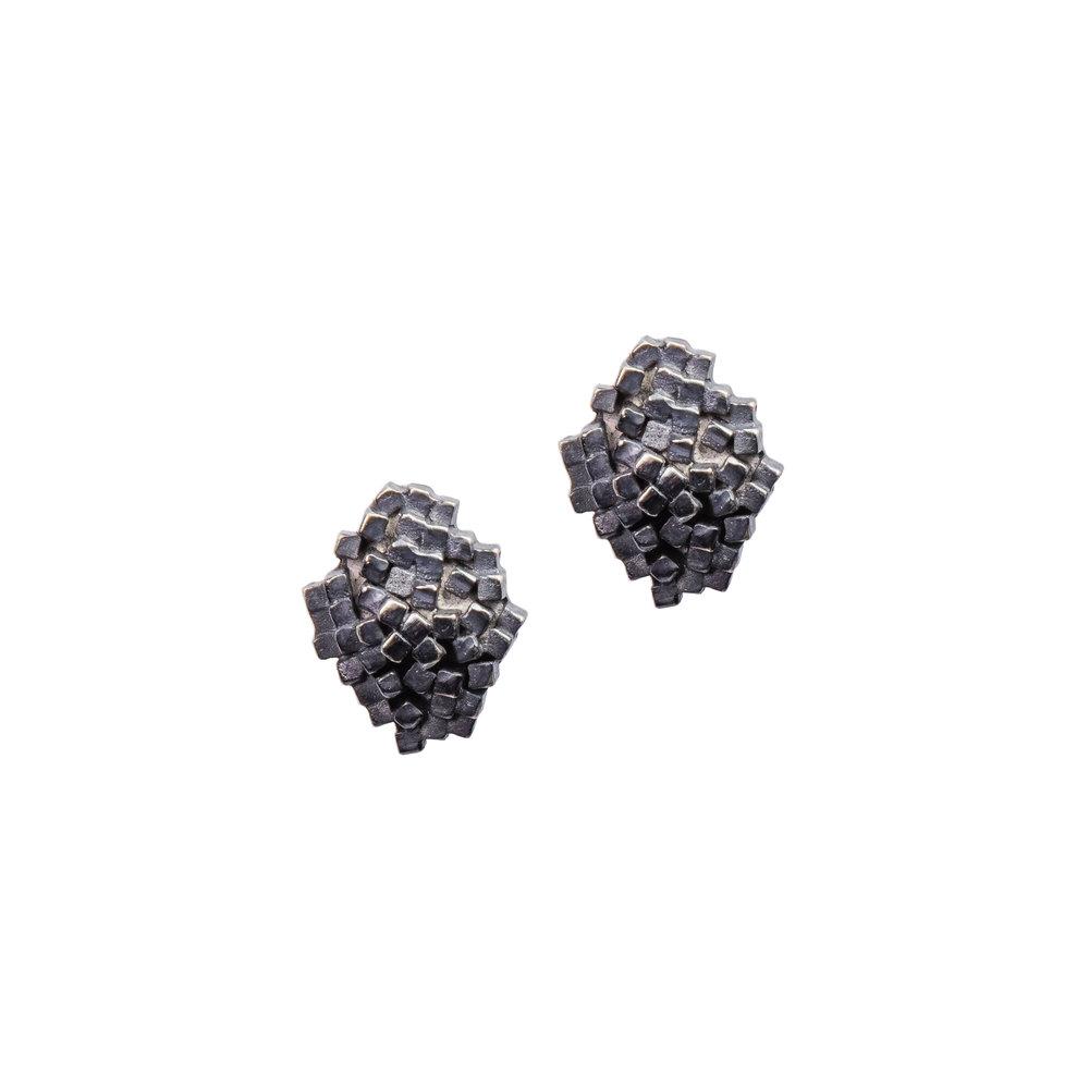 Oxidised Strata Studs - Small.jpg