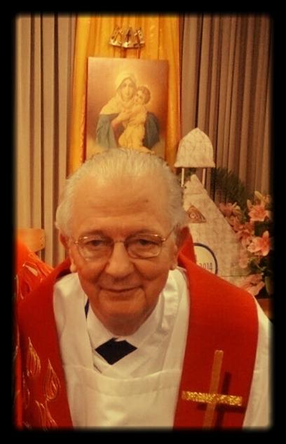P. Guillermo después de haber celebrado la Santa Misa en Schoenstatt, Alemania para los puertorriqueños durante la Celebración de los 100 años de Schoenstatt, octubre de 2014.