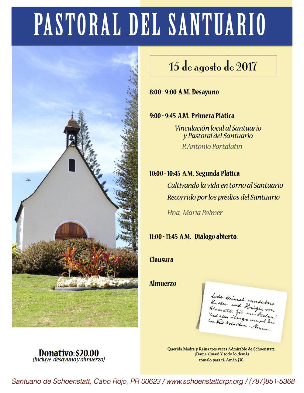 Jornada Sacerdotal - 14 y 15 de agosto de 2017
