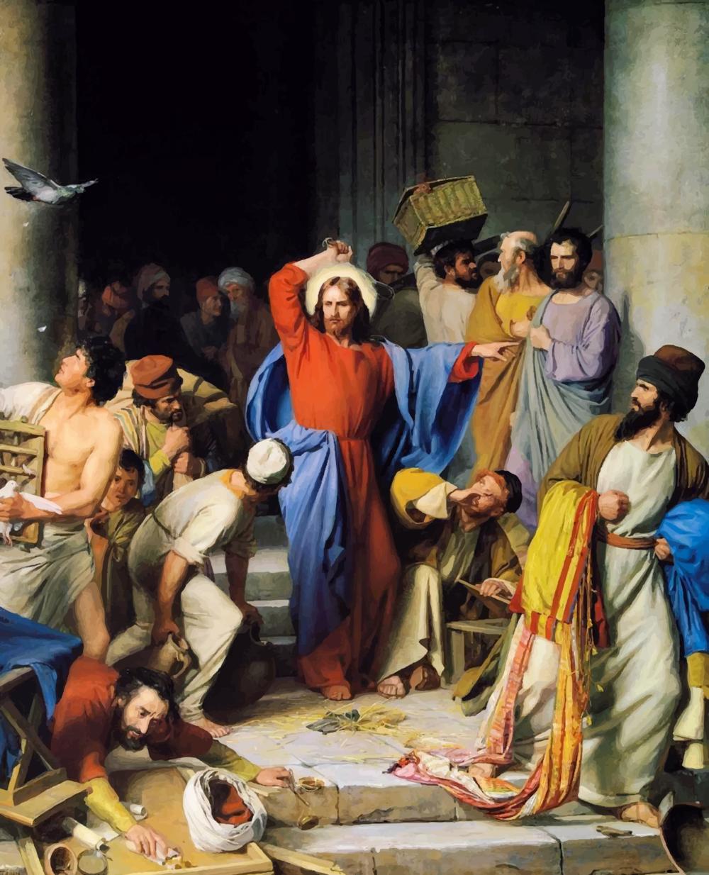 Jesus san Juan (2,13-25)