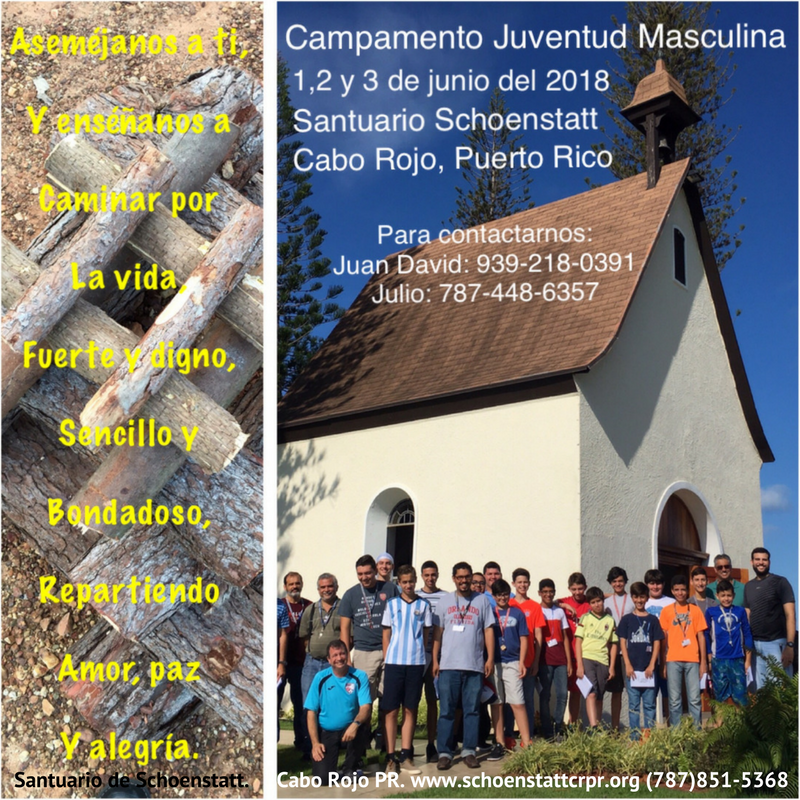 Santuario de Schoenstatt. Cabo Rojo PR. www.schoenstattcrpr.org (787)851-5368.png
