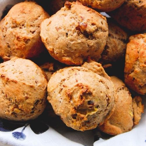 Date + Orange Muffins