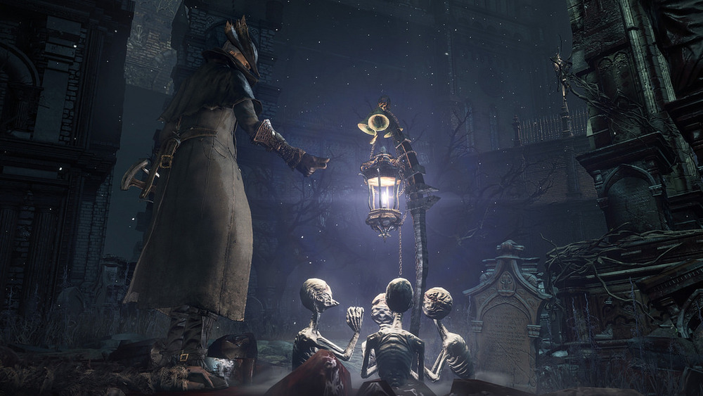 The little lamp goalies are a nice touch. I did not forsee myself being completely absorbed by Bloodborne. The most pleasent suprise of the year.