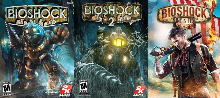 throwback thursday bioshock series blogevade gismo