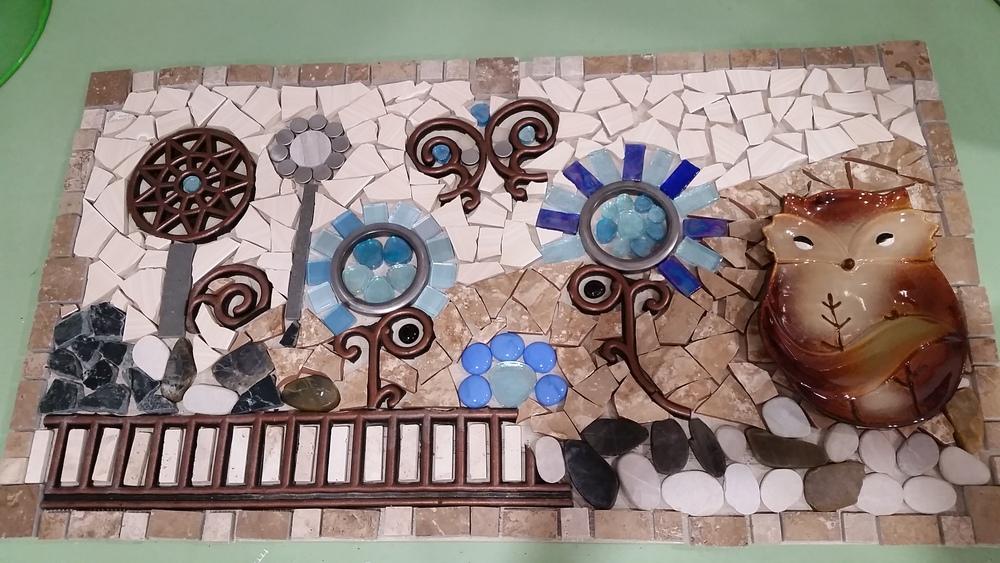 Funny mosaic