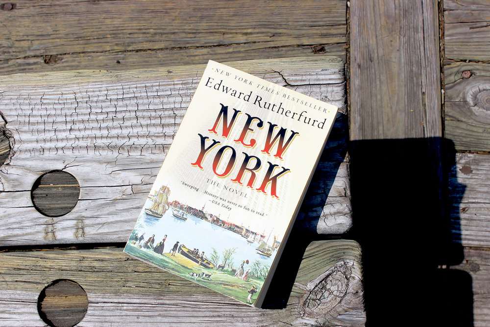 New York by Edward Rutherford - My Dad gave me this book a few months ago and I've been working through it bit-by-bit. It tells the story of New York from it's earliest days, narrated by various fictional characters living in the city. As a resident of Battery Park City, it's been neat to discover that history happened at my doorstep, and that the original settlement of the city was right here around Battery Park. If you're looking for a good read, I recommend this one.