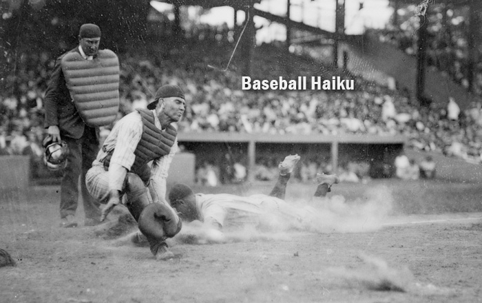 New York Yankee Lou Gehrig slides into home plate (Library of Congress)