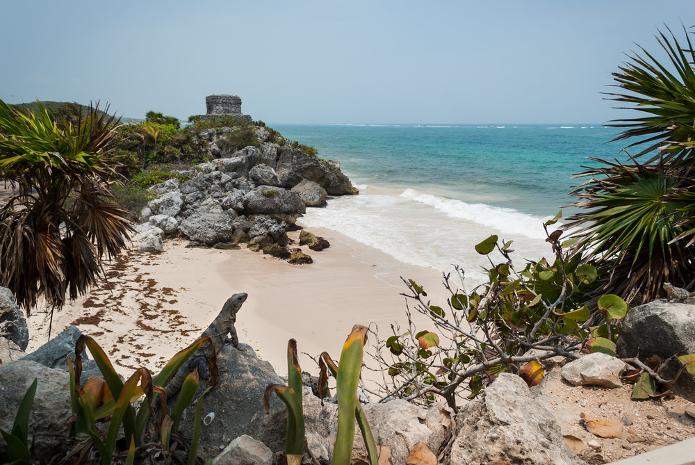 Tulum was one of the last cities built and inhabited by the Maya, and you can see why... Quintana Roo, Mexico
