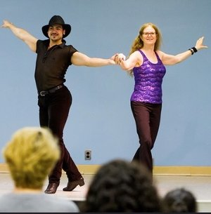 Barb & Franco Perform Cha Cha
