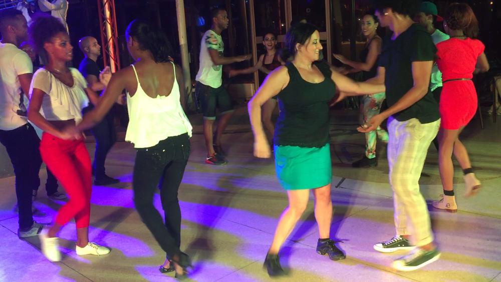 Dancing Rueda in Havana, Cuba!